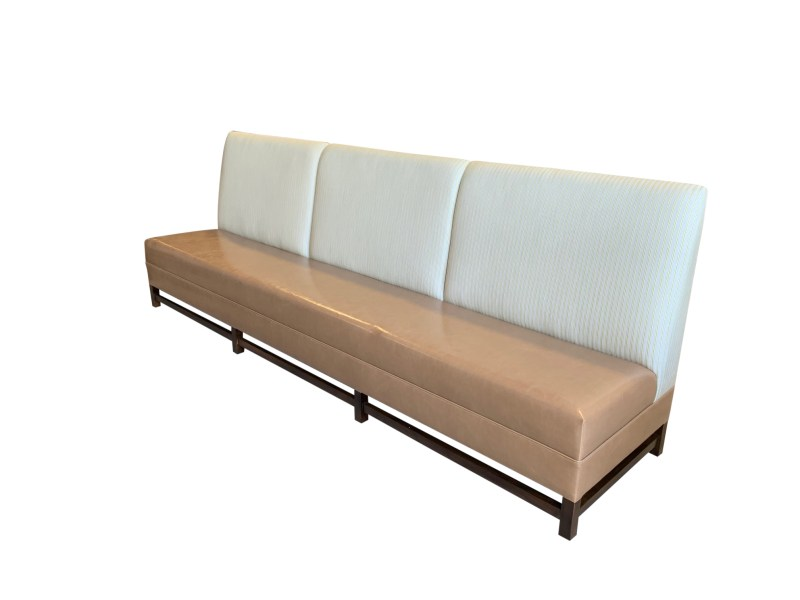 Side View Custom Banquette