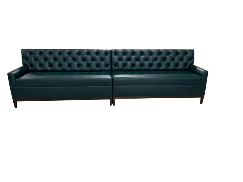 Tufted Banquette Front