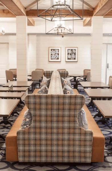 Interiors by Banko Design - Banquette through JRW Custom