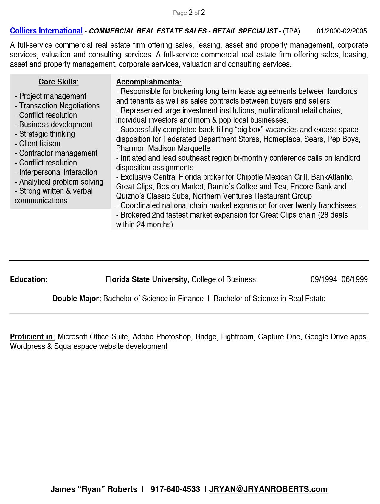 resume format for double major latest resume format for freshers