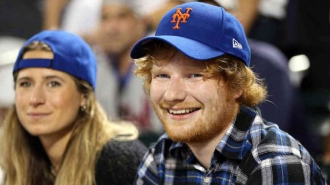 Image result for Ed Sheeran and long-term girlfriend