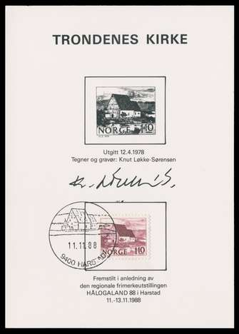 Jay Smith & Associates: Norway: Souvenir Cards: Engraver