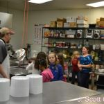 Girl Scouts Visit J Scott Catering