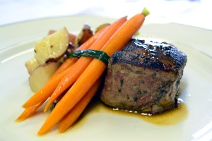 Filet Mignon entree