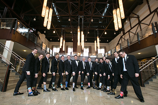Groomsmen at the Phoenixville Foundry