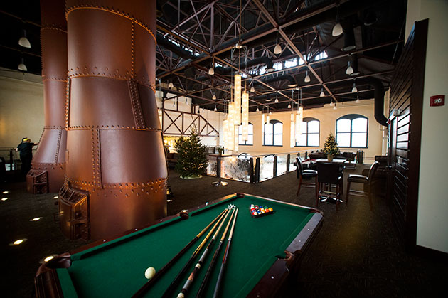 pool tables at foundrypool tables at Phoenixville Foundry