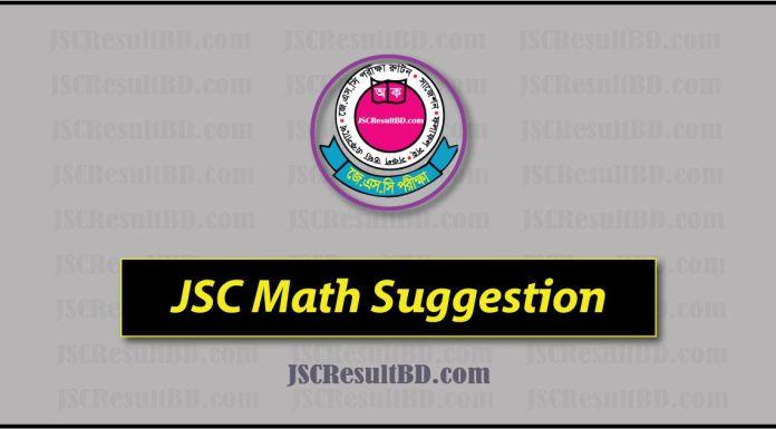 JSC Math Suggestion 2019