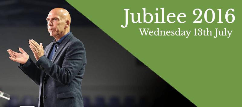 John Speaking at Jubilee 2016