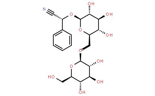 29883-15-6_苦杏仁苷CAS號:29883-15-6/苦杏仁苷中英文名/分子式/結構式 - 960化工網