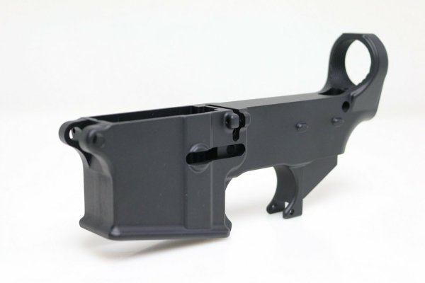 80% AR-15 Receiver - Anodized