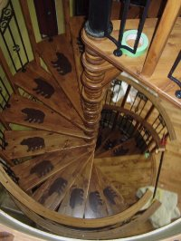 Spiral stair pictures.