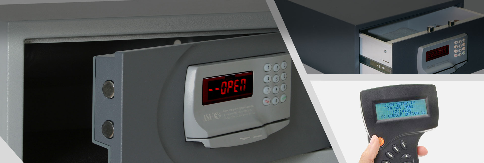 Our Electronic Safes Products: