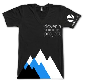 A mock up of a t-shirt I created for our Summer Project coming to Slovenia this summer.
