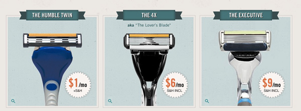 Dollar-Shave-Club-Review-Razor-Options