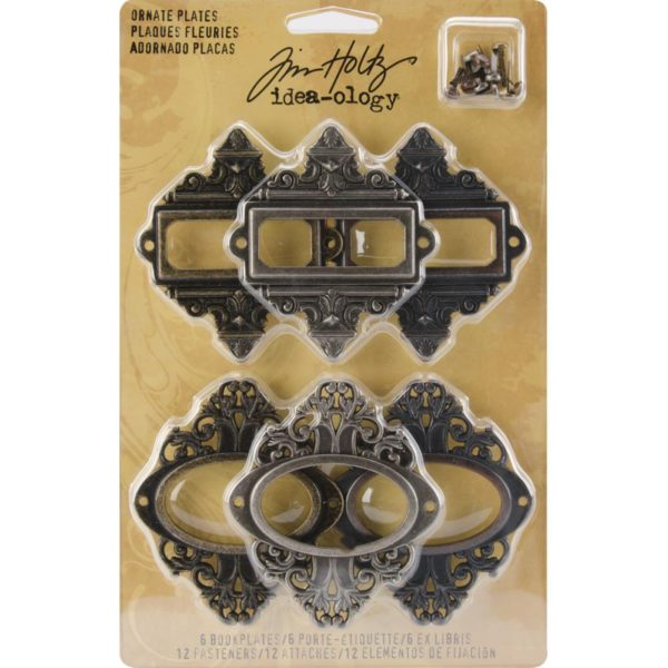 Tim Holtz Ornate Plates