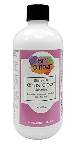 Art Glitter Designer Glue Refill Bottle