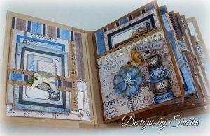 Heartfelt Creations Coffee Talk Mini Album Ideas