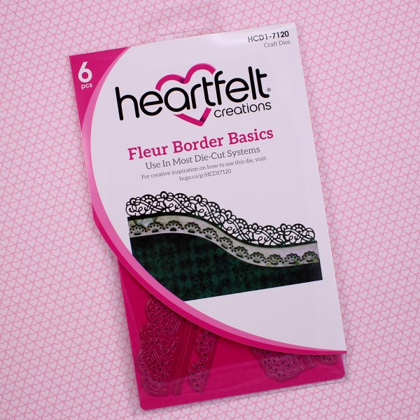 Heartfelt Creations Fleur Border Basics Die
