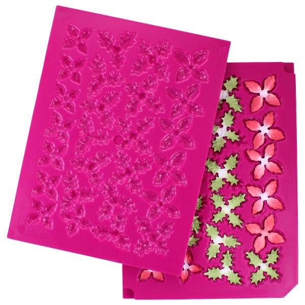 Heartfelt Creations 3D Poinsettia Shaping Mold