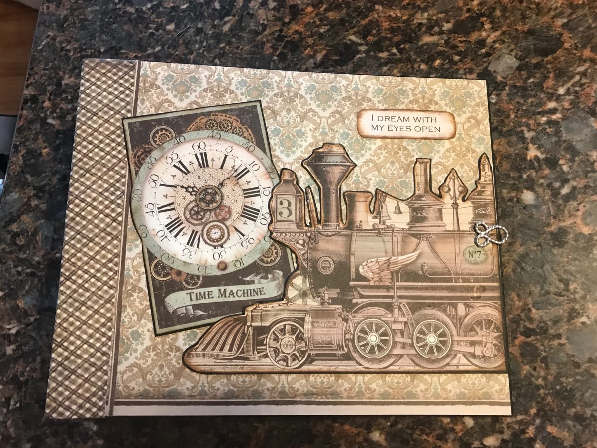 Stamperia Voyages Fantastique Large Album