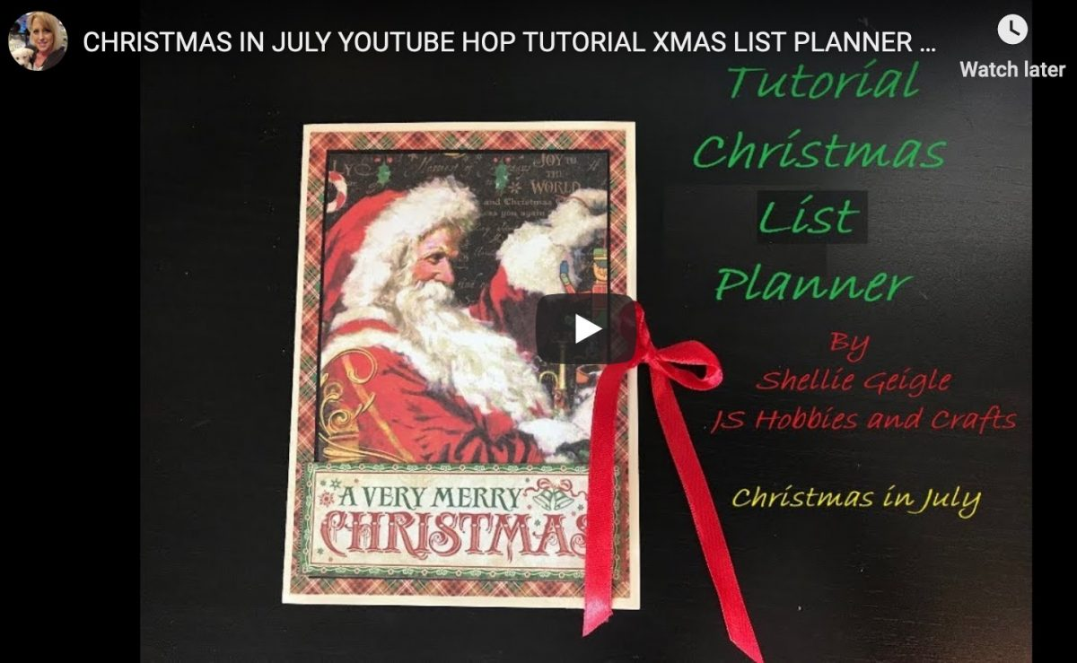 Christmas List Planner