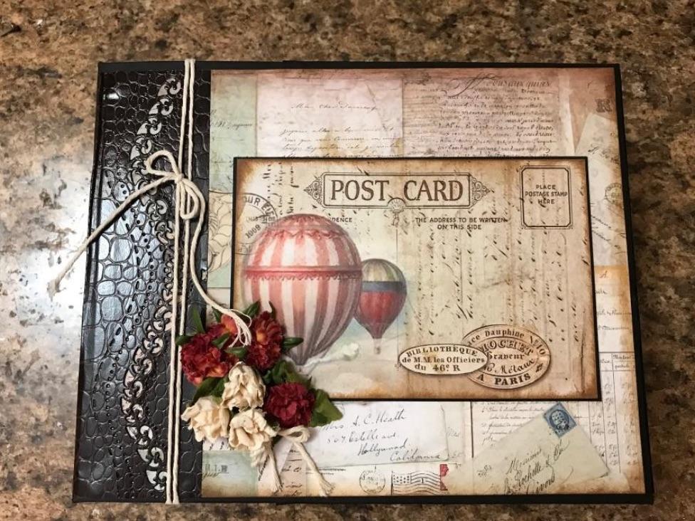 Stamperia Around the World Mini Album
