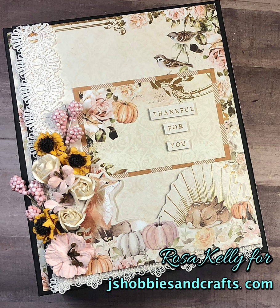 Prima Autumn Sunset Mini Album