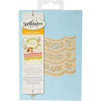 Spellbinders Card Creator Die ~ A2 TRANQUIL MOMENTS ~ S5-216