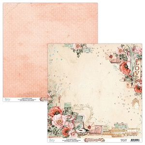 Mintay Papers 12x12 Paper Pack Love Letters 12 Sheets Scrapbooking And Paper Crafts J S Hobbies And Crafts