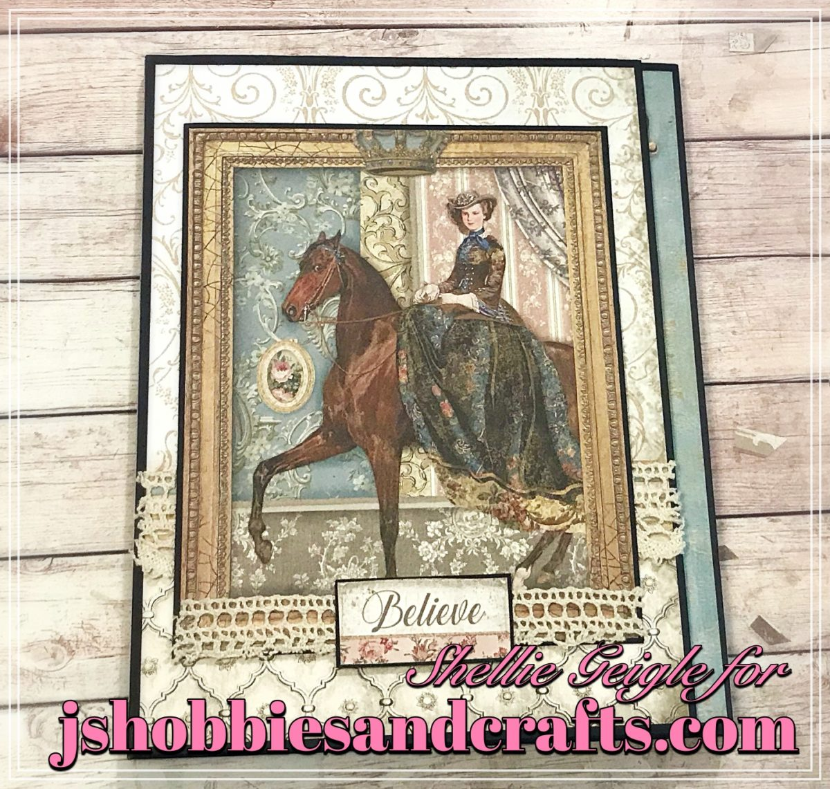 Stamperia Princess Folio Tutorial