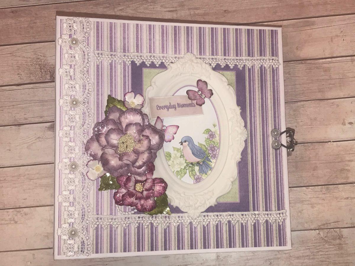 Heartfelt Creations Cascading Petals Album