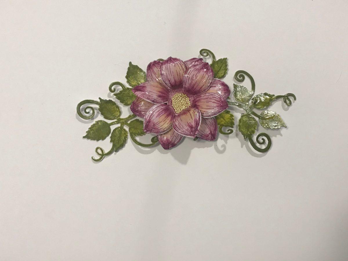 Flowers for the Dazzling Dahlia Folio Tutorial