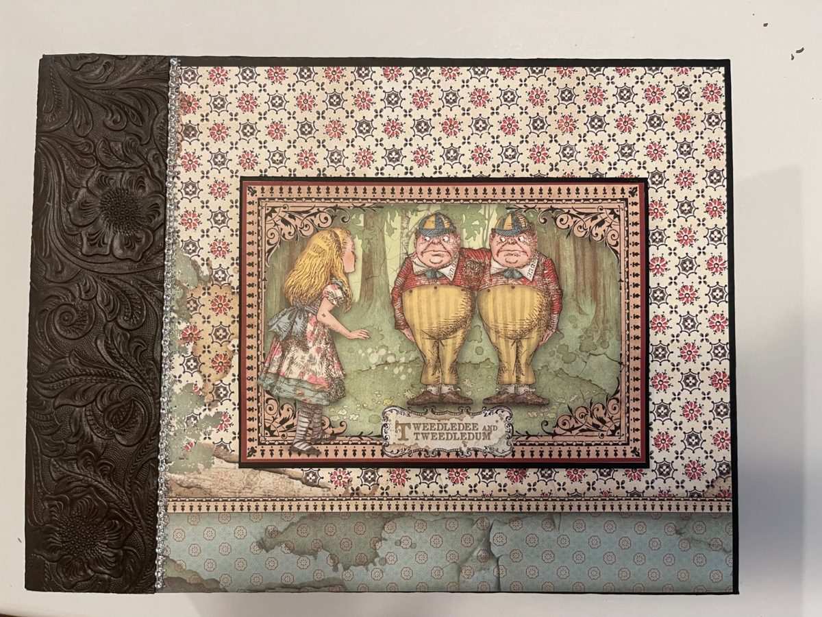 Stamperia Alice Through The Looking Glass Large Album Tutorial