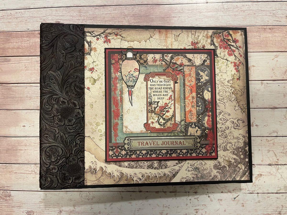 Stamperia Sir Vagabond in Japan Large Album