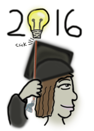 2016 Graduation, Girl Portrait