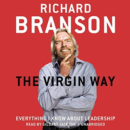 The Virgin Way by Richard Branson Cover