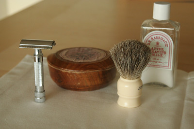 My shaving gear