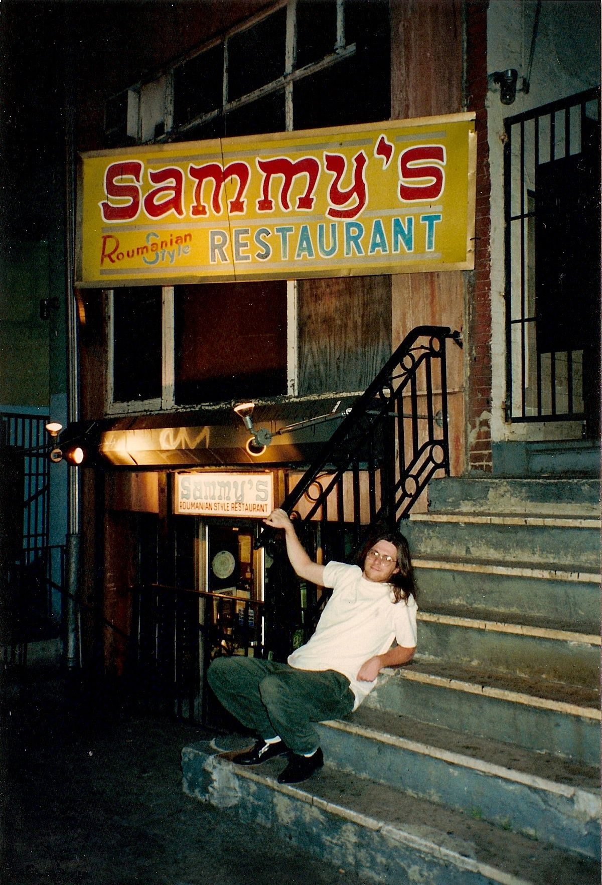 Sammys Roumanian An Amherst Tradition  Even Josh Knows