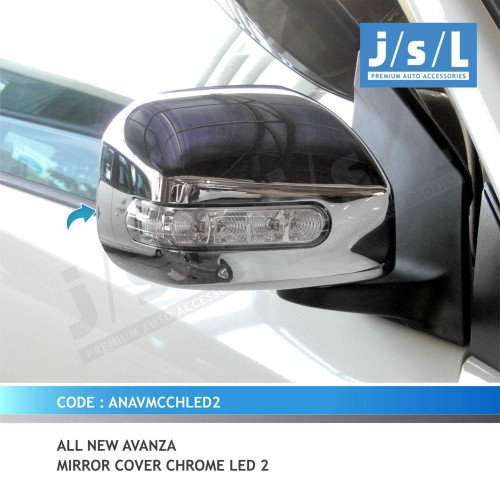 aksesoris grand new avanza 2018 toyota yaris trd sportivo pantip all xenia an agya mirror cover chrome led 1