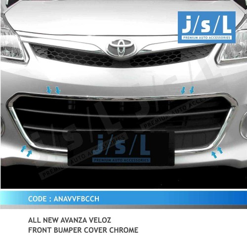 list grill grand new avanza veloz oli transmisi all an front bumper cover chrome