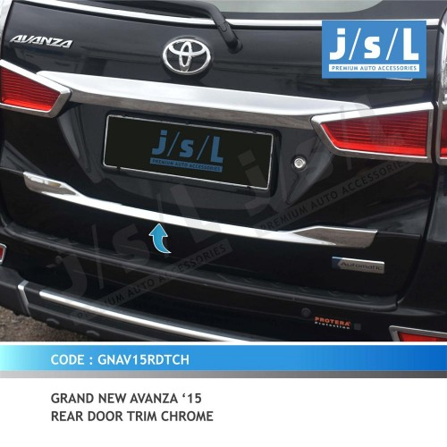 foto grand new avanza oli untuk xenia 15 gn rear door trim chrome