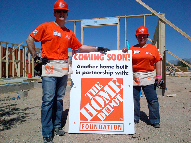 2014 J's Community Project, Home Building #1