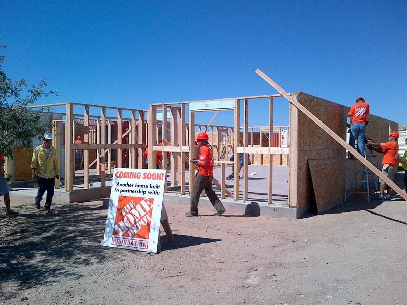 2014 J's Community Project, Home Building #3