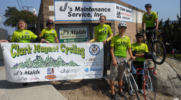 J's Supports High School Mountain Bike Team