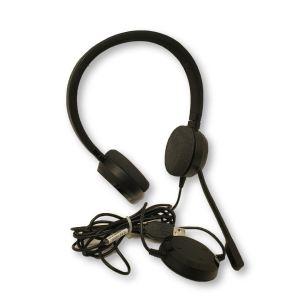 Dell JABRA EVOLVE 20 UC HEADSET USB WIRED Model: HSC016