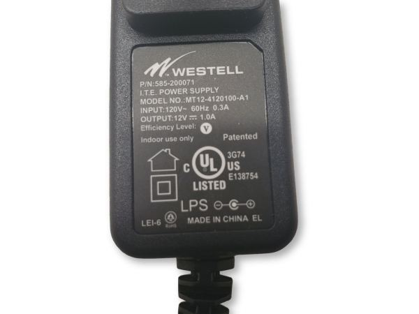 New Westell MT12-4120100-A1 Power Supply 12V 1A