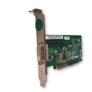 Used Dell Silicon Image DVI PCI-E Graphics Video Card High Profile KH276