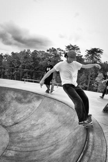 Laurel skatepark session May 2012