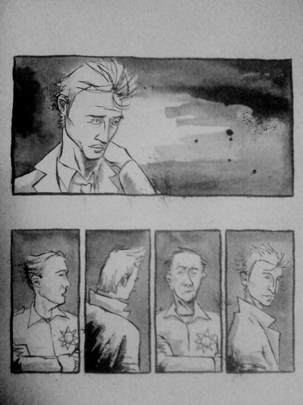 Ink washes