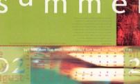 Quarterly calendar (summer)